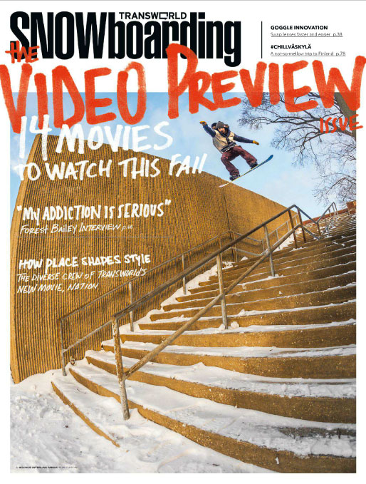 Transworld Snowboarding Cover
